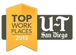 Union Tribune Top Workplaces 2013