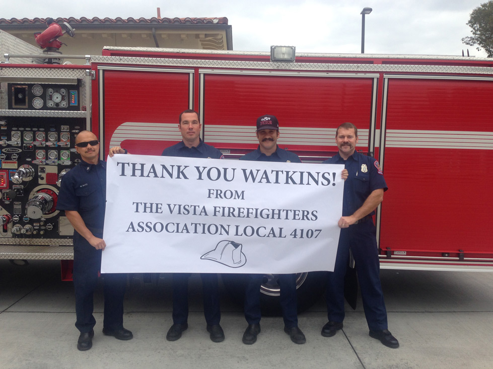 Firefighters - Watkins Manufacturing