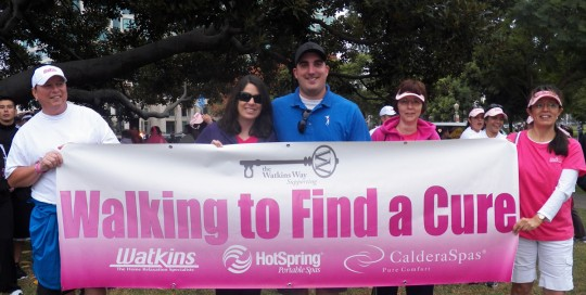 Walk for Cure 2 - Watkins Manufacturing