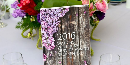 Service Awards Luncheon-2016 Watkins Wellness