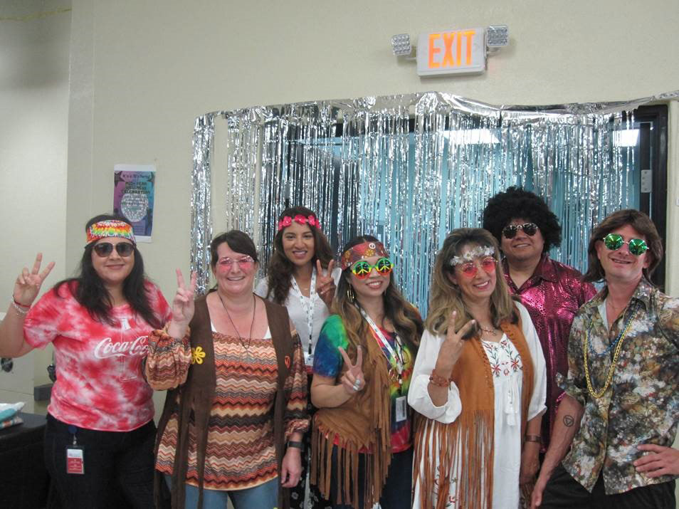 Watkins Wellness Bi-Annual Wellness Celebration 70s Theme
