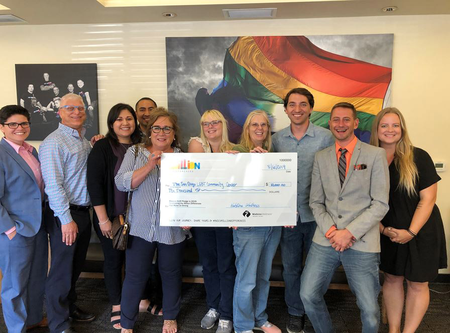 Watkins Wellness Tour of San Diego LGBT Center 2019